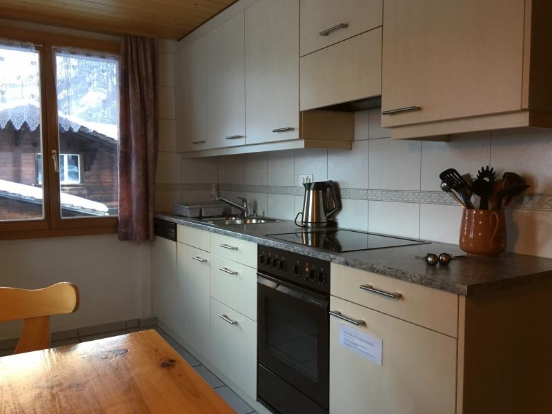 Küche der Wohnung im 1. Stock