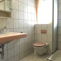 Douche/WC im Studio