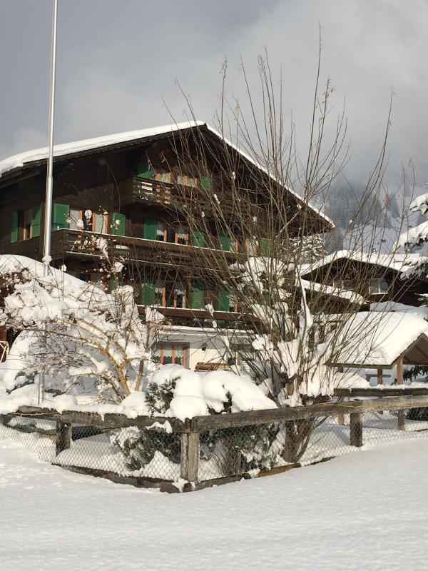 Chalet Heimelig im Winter