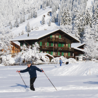 Chalet Heimelig im Winter
