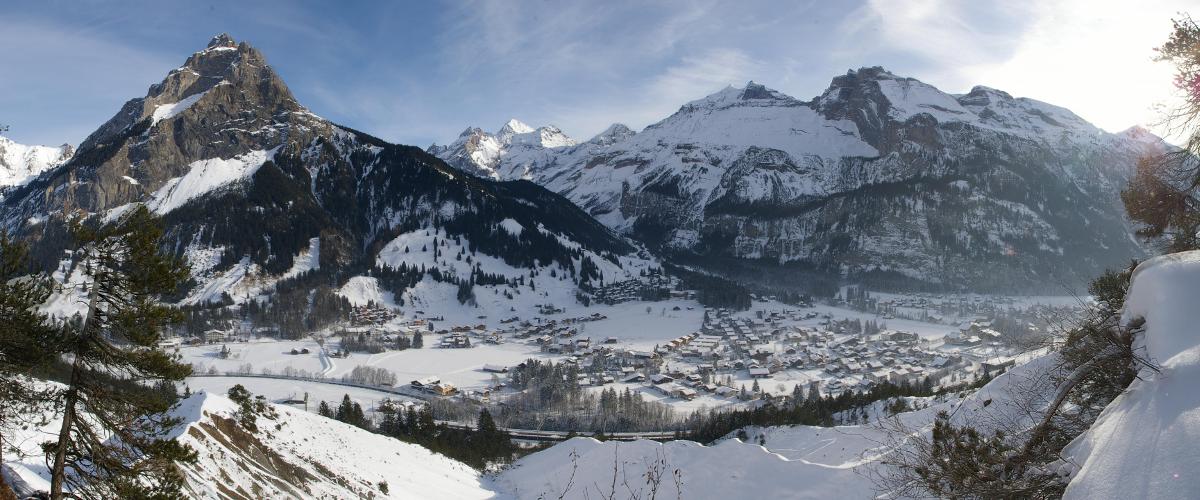 Panorama von Kandersteg