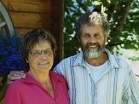 Die Gastgeber Therese und René Rechsteiner