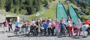 Frühlings-Skispringen in Kandersteg